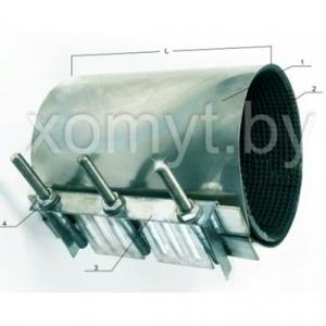 Хомут стандартный D 76-87, L150