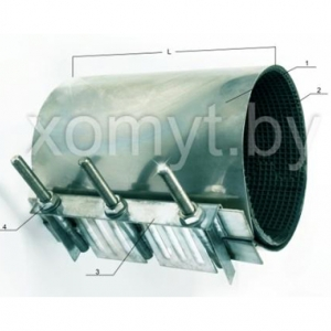 Хомут стандартный D 159-170, L400